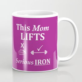 Fit Mom Weightlifting Funny Fitness Coffee Mug