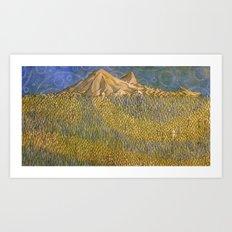 Erebor, The Lonely Mountain Art Print