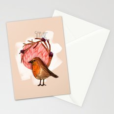 Spring birdy / Nr. 5 Stationery Cards