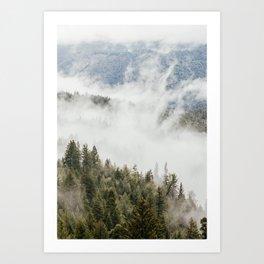 Mountain, Nature Photography, Wanderlust Art Print