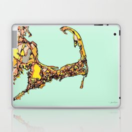 Abstract Map Cape Cod Laptop & iPad Skin