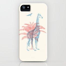 Giraffe - Where they Belong iPhone Case