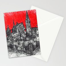 1991 - Imaginary French Village (High Res) Stationery Cards