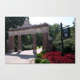 Ohio University College Gate  Canvas Print