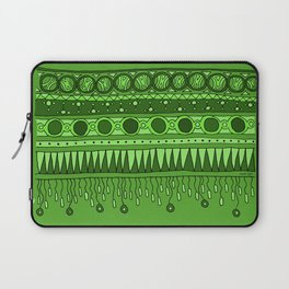 Yzor pattern 007 green Laptop Sleeve