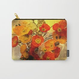 Poppy Expressions Carry-All Pouch