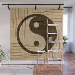 Yin Yang, Warp and Weft Dark Wall Mural