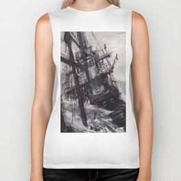 All Hands On Deck Biker Tank