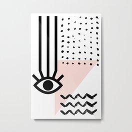 MAUVAIS OEIL #04 Metal Print