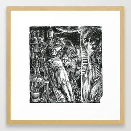 Inktober 2018: Precious Framed Art Print