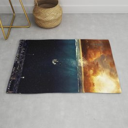 """Our Ends Are Beginnings"" - Limited Print Rug"