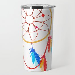American Indian Dreamcatcher Native American History Design Travel Mug