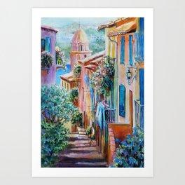 Colors of Collioure, France Art Print