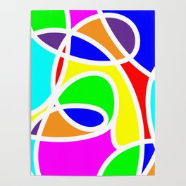Loops Color Poster