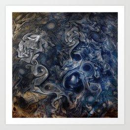 Jupiter Blues Art Print