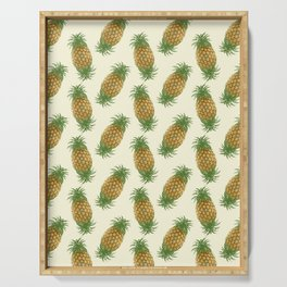 Genetically Engineered Pineapple Serving Tray