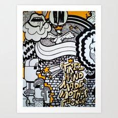 BODY PART III Art Print
