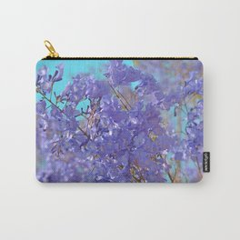 Purple and Blue Party! Carry-All Pouch