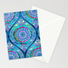 Radiant Boho Color Play Stationery Cards