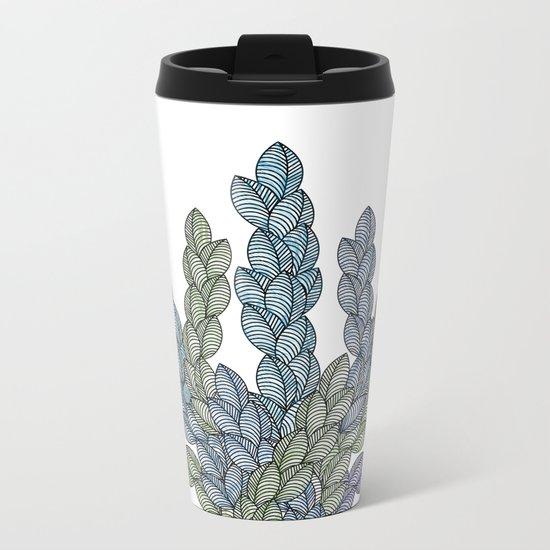 Leaf 11 Metal Travel Mug