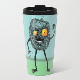 Hairy mean monster Travel Mug