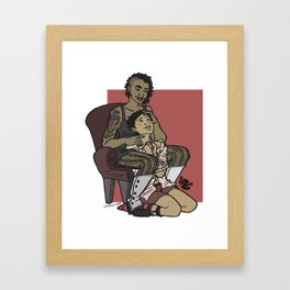 cherished pet Framed Art Print