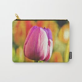 Tulip Collage Carry-All Pouch