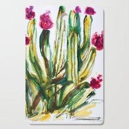 Crazy Cactus Cutting Board