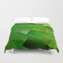 Memory of green paradise ... Duvet Cover