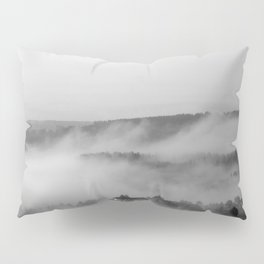 Landscape with fog Pillow Sham