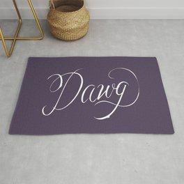 Dawg (Hip Hop Calligraphy II) Rug