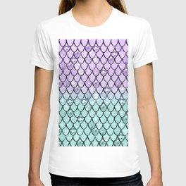 Mermaid Princess Glitter Scales #2 #shiny #pastel #decor #art #society6 T-shirt