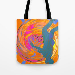 Head Down in The Tunnel Tote Bag