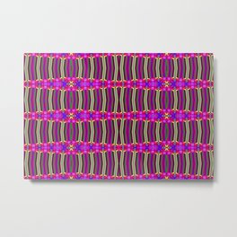 Elastic band Metal Print