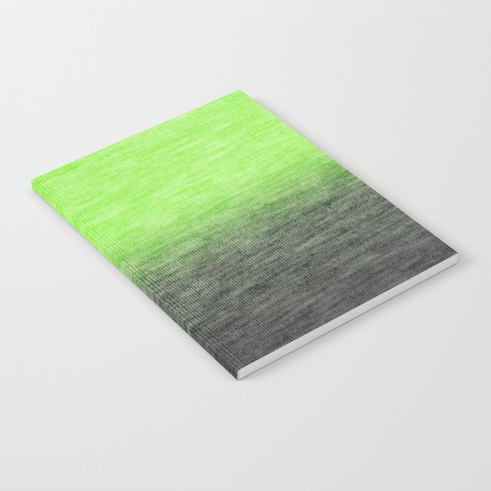 Ombre Lime Notebook