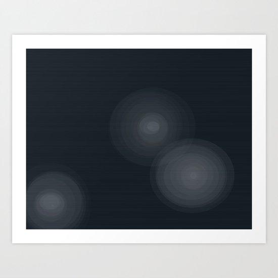 Star Beams Art Print