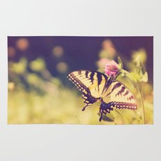 If nothing changed, there'd be no butterflies.~walt disney Rug