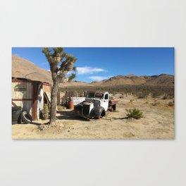 Deserted Desert Canvas Print