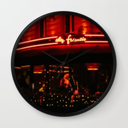Paris Out of Focus II Wall Clock