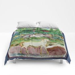 Two Appaloosas Comforters