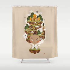 PRINCE POO'S PANNA Shower Curtain