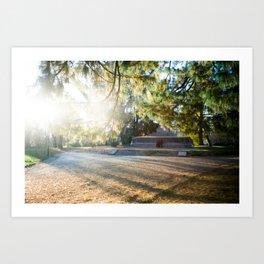Parco Sempione Art Print