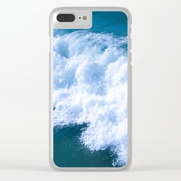 Wave I Clear iPhone Case