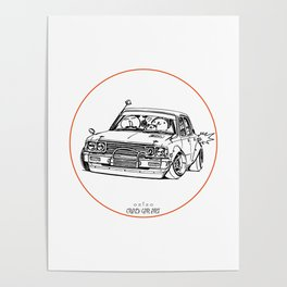 Crazy Car Art 0224 Poster