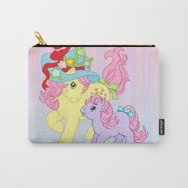 g1 my little pony Posey and baby Ember Carry-All Pouch