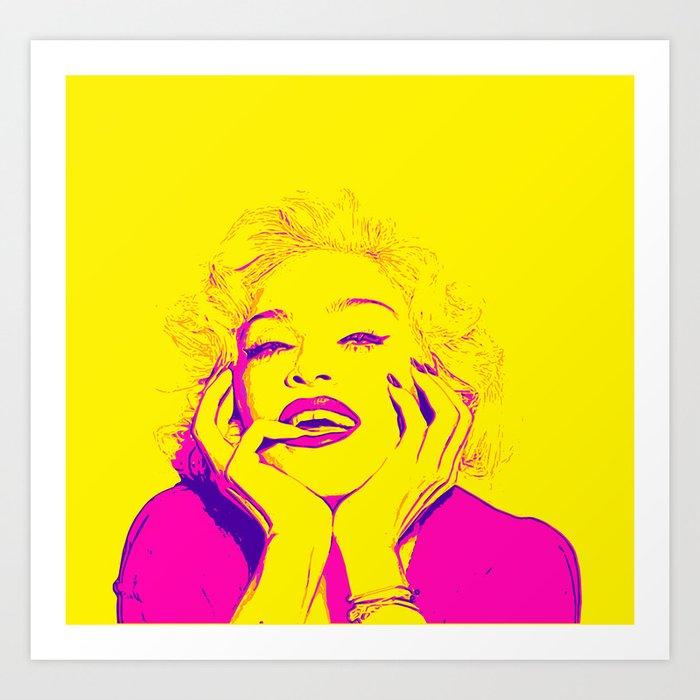 Bright Madonna Art Print
