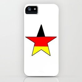 Flag of Germany 4 iPhone Case