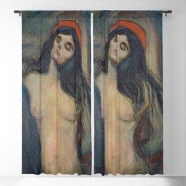 Edvard Munch - Madonna Blackout Curtain