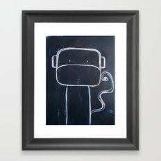 No. 0015 - The Monkey  Framed Art Print