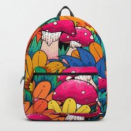 Autumn undergrowth Backpack